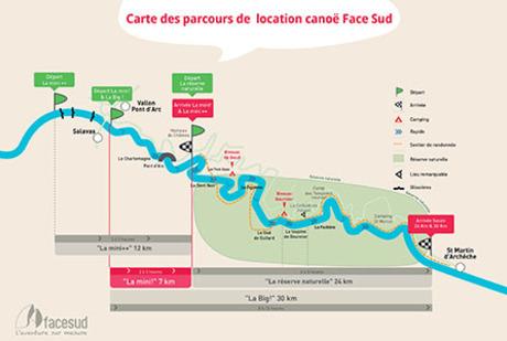location de cano kayak en demi journ e 7km vallon pont d 39 arc. Black Bedroom Furniture Sets. Home Design Ideas