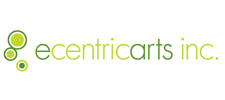 logoSingle : logo ecentricarts : 225 x 100