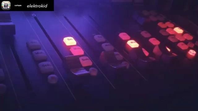 Skating faders #PlatformM #mixing #studiolife