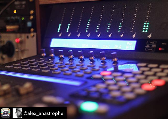 Just the right amount of #blur #qconprox | Repost from @alex_anastrophe using @RepostRegramApp – Recently got me this new controller from @iconproaudio.Definitely enhanced my workflow and working speed🏼🏼#studiogear #mixing #music #studiolife #producer #midi #controller #faders