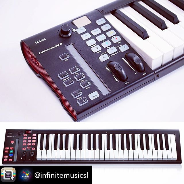Have you gotten your iKeyboard yet?!  | Repost from @infinitemusicsl using @RepostRegramApp – @iconproaudio #ikeyboard4x #srilanka🇱🇰 #keyboard #keys #keyboardist #musicsl #icon #iconproaudio #music #world