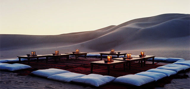 Desert bar at Siwa, Egypt; courtesy of Siwa