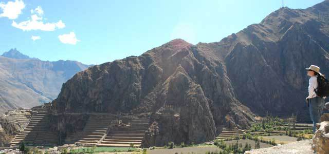 Overlooking Ollantaytambo, 2009