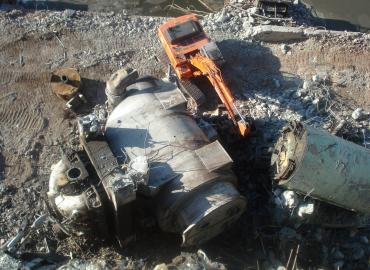 Akron Gorge Power Station Demolition