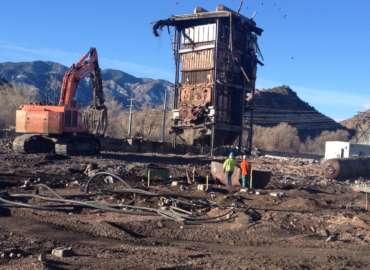 Black Hills Power W.N. Clark Plant Demolition