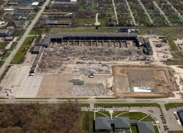 Former Chrysler Stamping Plant Demolition