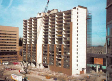 Omni International Hotel Demolition