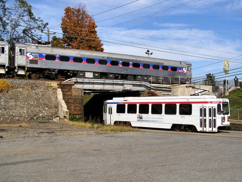 Route of the week mediaelwyn line septa the mediaelwyn line has benefited greatly from the recent state transportation funding the crum creek viaduct project was completed in september 2016 and publicscrutiny Images