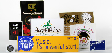Flexo Printed Stickers