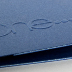 Embossing and Debossing