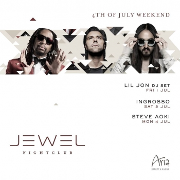 Celebrate Fourth of July weekend with us!! Featuring sounds by #LilJon, #Ingrosso, & #SteveAoki! Tickets: bit.ly/july4-16