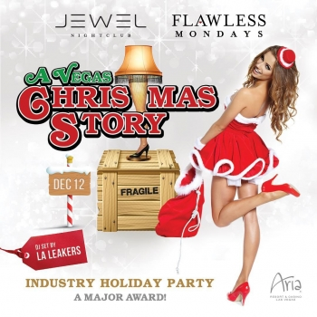 It's a major award! Join us on Monday, December 12th for a special edition of #FlawlessMondays: A Vegas Christmas Story. Holiday attire encouraged!  Eat. Drink. Dance. #BeFlawless  FlawlessMondays.com