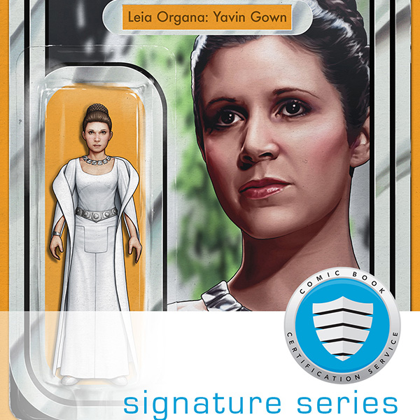 JTC EXCLUSIVE | Leia Organa:Yavin Gown Action Figure