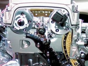 VVT Engine Cross section