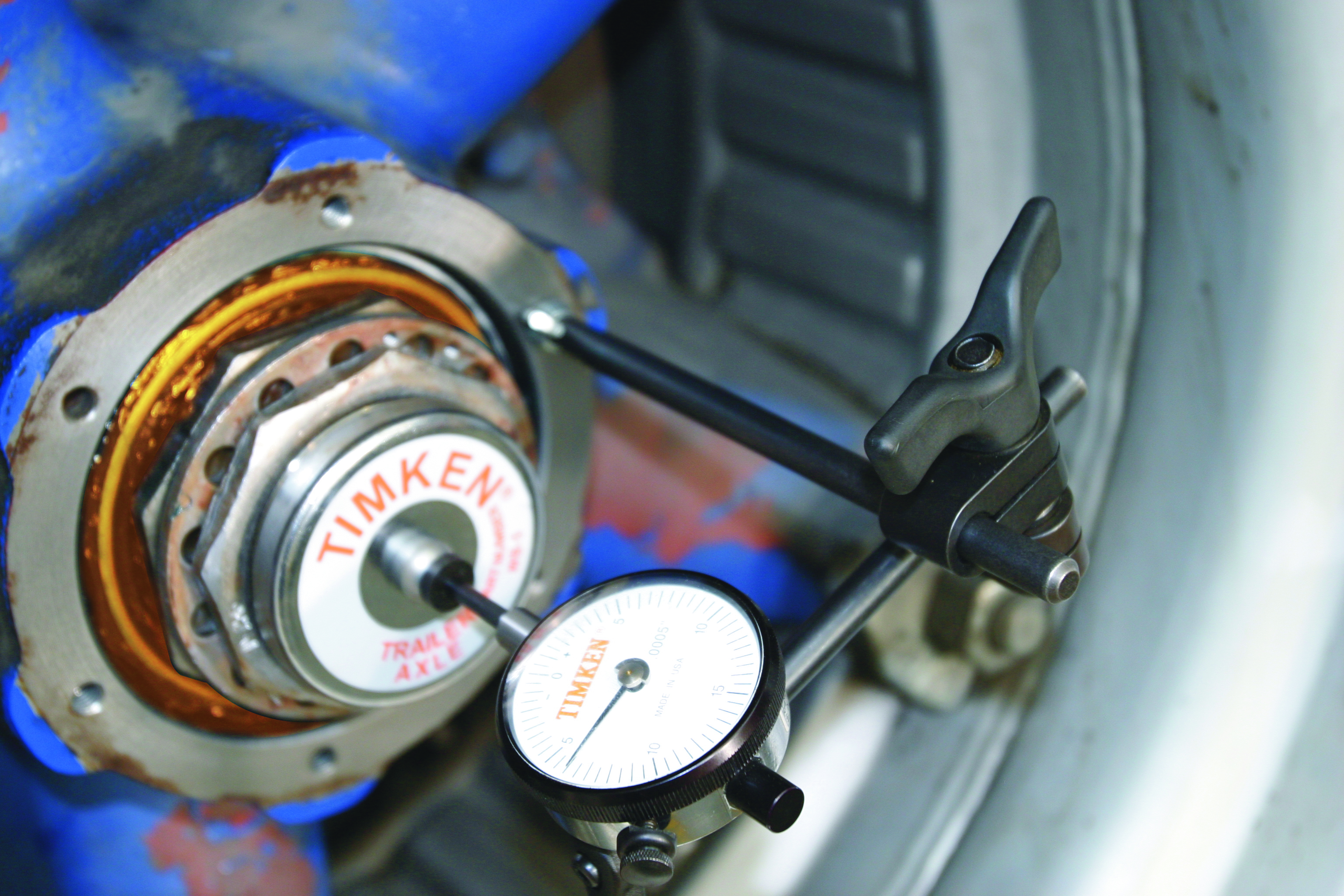 Dial Indicator Assembly : Bearing adjustment basics know your parts