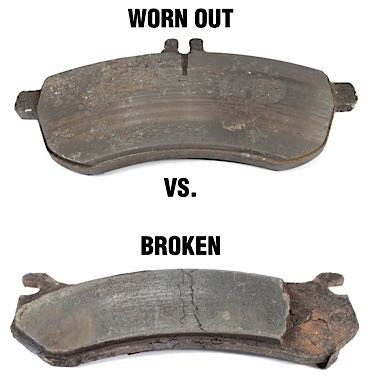 Can The Car Brake If The Pads Are Worn