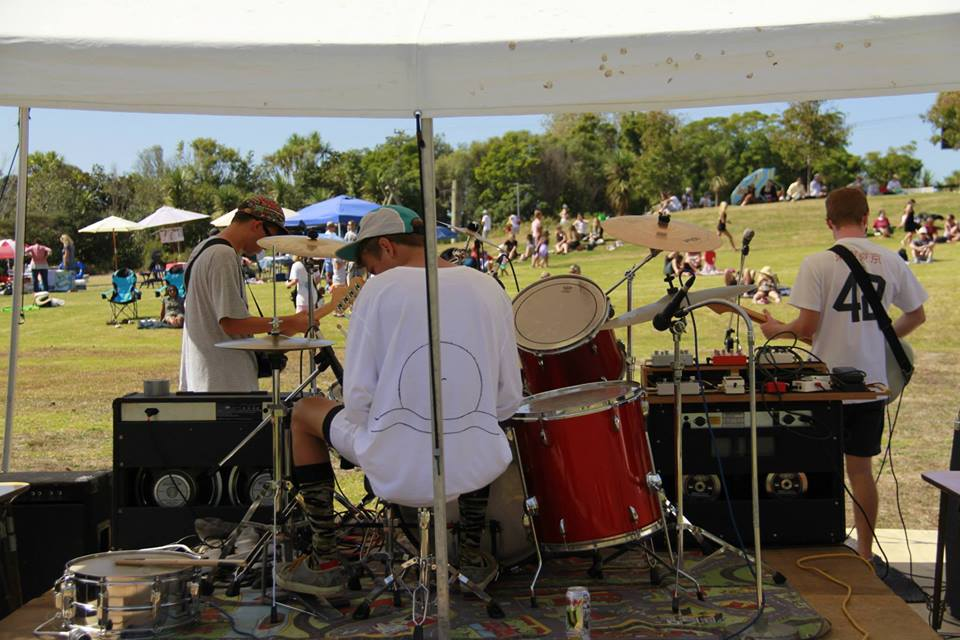 Band at 2014 Okura Forest Festival