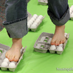 Walking on eggs science 1