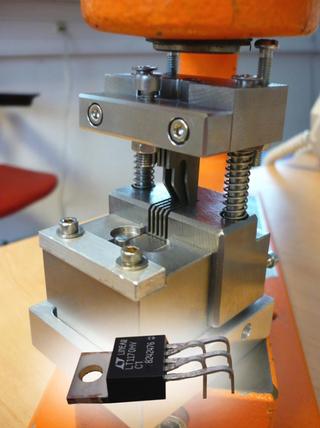 Formage de composant électronique