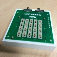 Organic-photo-diode test sockets