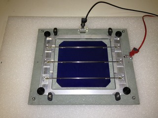 Electroluminescence sur cellules PV