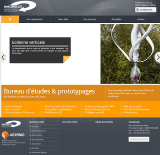 Un nouveau site web pour MECANIC 3D