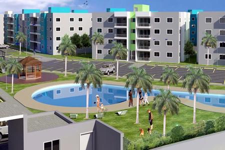 Residencial vistas del parque nico proyecto con piscina for Proyecto piscina privada
