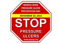 World Wide Pressure Ulcer Prevention Day Logo