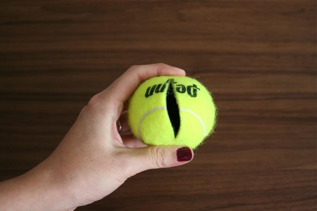 Теннисный шарик своими руками 129