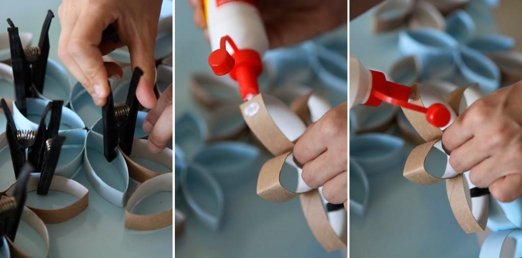 Как сделать из туалетной бумаги цветную бумагу