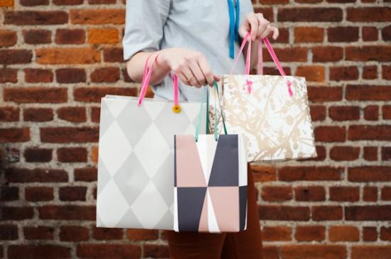 Бумажные пакеты для сумок