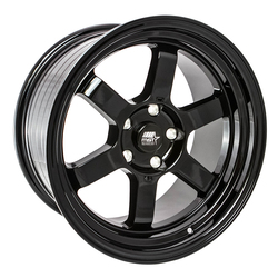 MST Wheels Time Attack - Black Rim