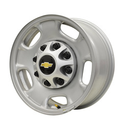 GMC/Chevy Wheels 500 Take-Off OE Steel - Silver Paint