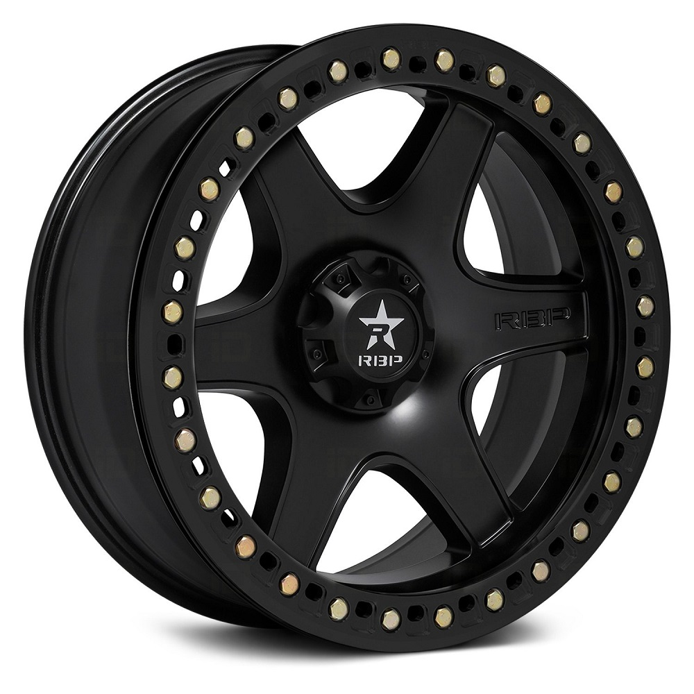 RBP Wheels 50R Cobra - Black w/Black Ring Rim