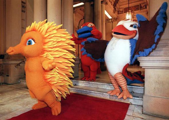 Sydney Olympics mascots