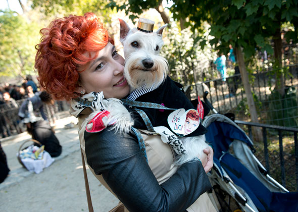 Dog Halloween Parade I Love Lucy
