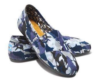 TOMS Shark Week shoes
