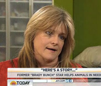 Former Brady Bunch star Susan Olsen