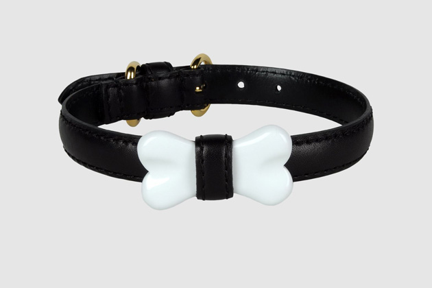 Moschino Dog Bone Collar