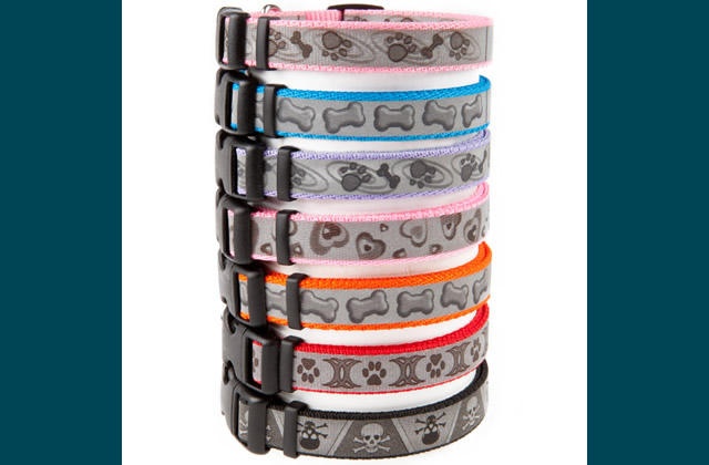 Coastal Pet Products Personalized Reflective Nylon Collars