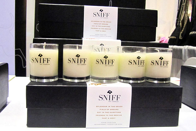Sniff Pet Candles' Fart & Away Candle, $32