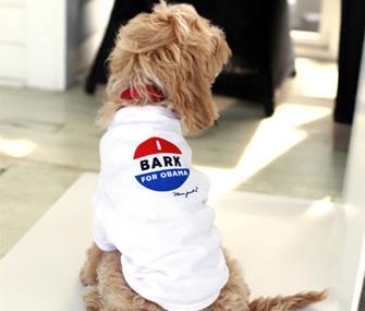 Bark for Obama Dog Shirt