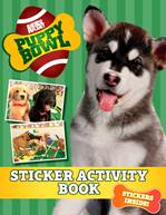 Puppy Bowl Sticker Book