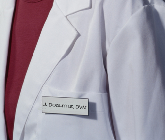 Dr. Doolittle name tag