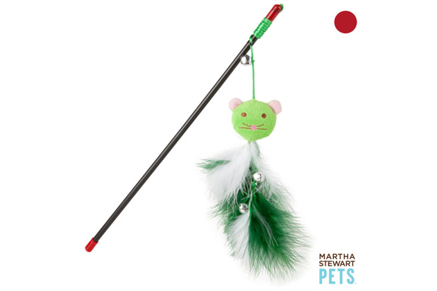 Martha Stewart Pets Feather Dangler