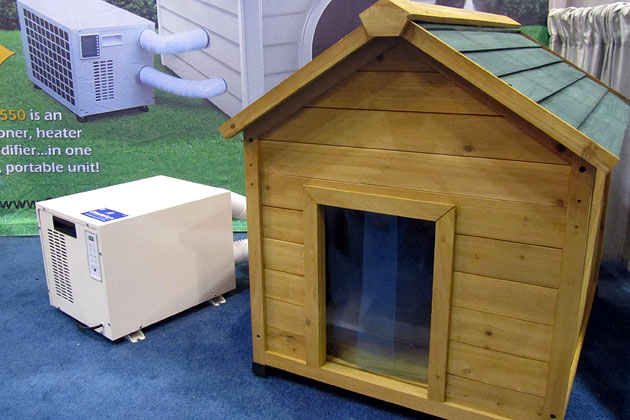 Air-Conditioned Dog House