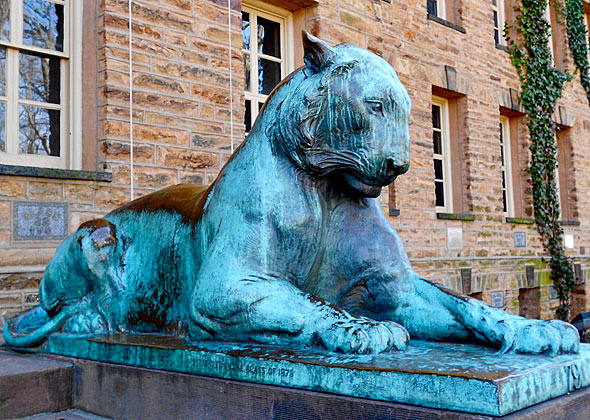 Princeton Tiger, Nassau Hall
