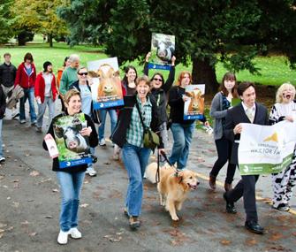 Farm Sanctuary Walk for Animals