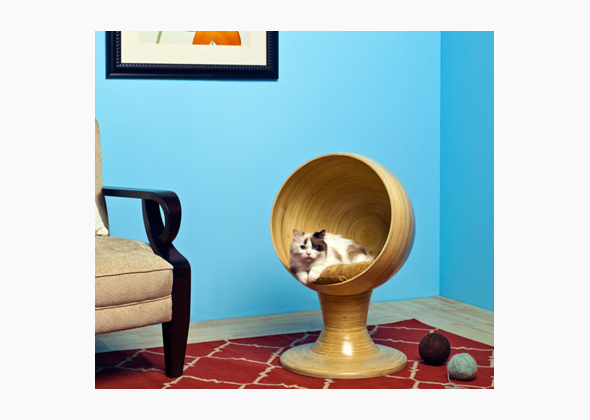 Kitty Ball Cat Bed, Refined Kind