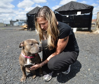 Crystal Sullenger was reunited with her dog Star, who was missing for four years in Oregon.